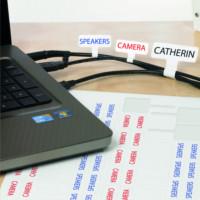 Etykiety do oznaczania kabli