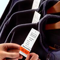 Etykiety odzież