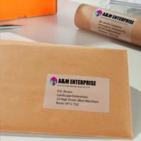 Etykiety na paczki i przesyłki