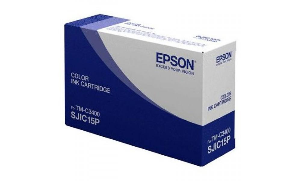Pojemnik z tuszem do drukarki Epson ColorWorks C3400 (3 kolory)