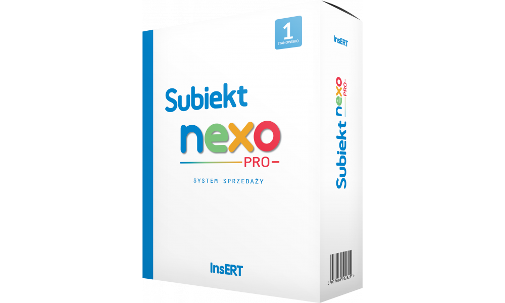 Insert upgrade z Subiekt nexo 1 st. do nexo PRO 1 st.