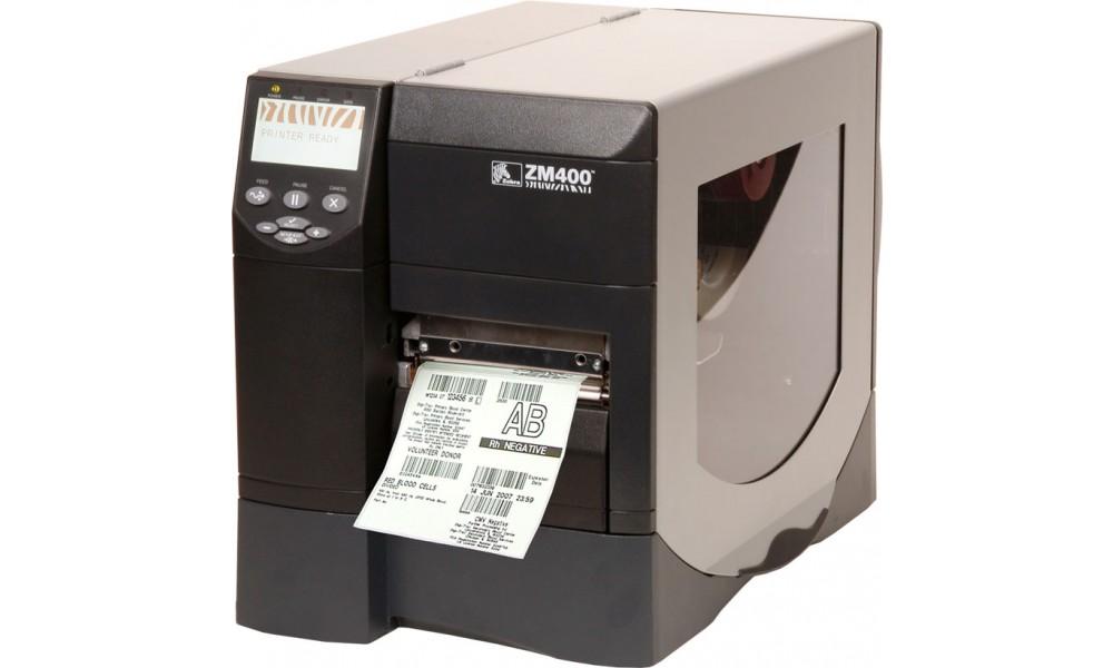 Półprzemysłowa drukarka kodów kreskowych Zebra ZM400