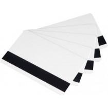 Karty plastikowe z paskiem Zebra