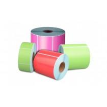 Kolorowa etykieta termiczna