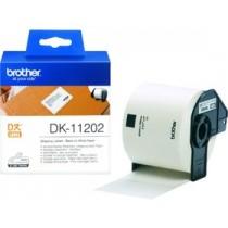 Etykieta papierowa DK11202 do drukarek Brother serii QL (62x100mm)