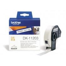 Etykieta papierowa DK11203 do drukarek Brother serii QL (17x87mm)
