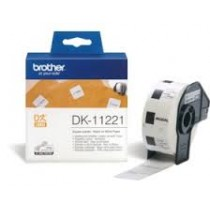 Etykieta papierowa DK11221 do drukarek Brother serii QL (23x23mm)