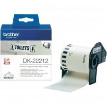 Taśma foliowa ciągła DK-22212 do drukarek Brother serii QL (62mm x 15.24m)