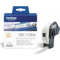 Etykieta papierowa DK11204 do drukarek Brother serii QL (17x54mm)
