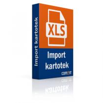 Import kartotek