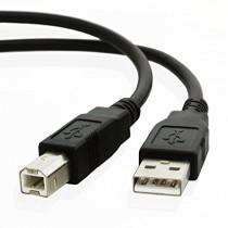 Kabel USB 3m biały do drukarki Zebra ZT510