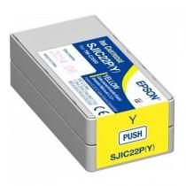 Pojemnik z tuszem do drukarki Epson ColorWorks C3500 (żółty)