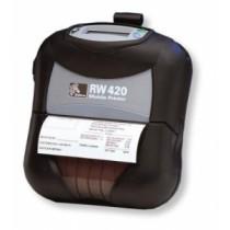 Przenośna drukarka kodów kreskowych Zebra RW 420