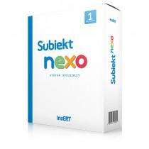 Subiekt nexo - licencja na 1 stanowisko