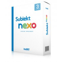 Subiekt nexo - licencja na 3 stanowiska