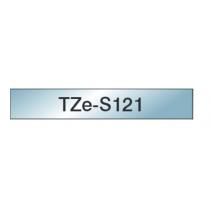 Taśma laminowana z mocnym klejem TZe-S121 do drukarek Brother (szerokość 9mm)