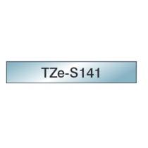 Taśma laminowana z mocnym klejem TZe-S141 do drukarek Brother (szerokość 18mm)