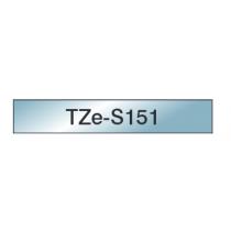 Taśma laminowana z mocnym klejem TZe-S151 do drukarek Brother (szerokość 24mm)