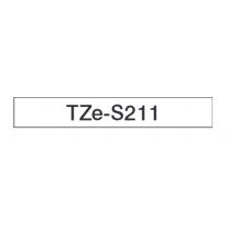 Taśma laminowana z mocnym klejem TZe-S211 do drukarek Brother (szerokość 6mm)