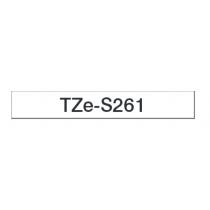 Taśma laminowana z mocnym klejem TZe-S261 do drukarek Brother (szerokość 36mm)