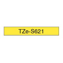 Taśma laminowana z mocnym klejem TZe-S621 do drukarek Brother (szerokość 9mm)