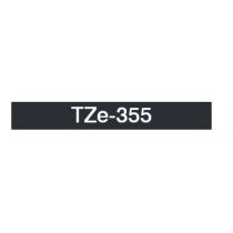 Taśma laminowana TZe-355 do drukarek Brother (szerokość 24mm)