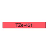 Taśma laminowana TZe-451 do drukarek Brother (szerokość 24mm)
