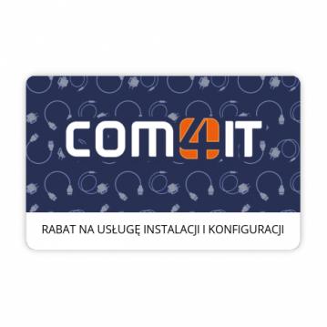 Rabat 50 zł na usługę pomocy w instalacji i konfiguracji sprzętu