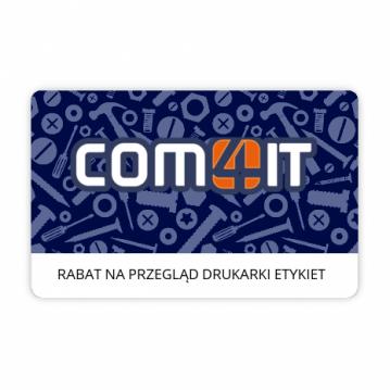 Rabat 50 zł na usługę przeglądu technicznego drukarki etykiet
