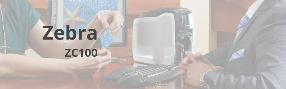 Zebra ZC100 - kompaktowa drukarka kart plastikowych