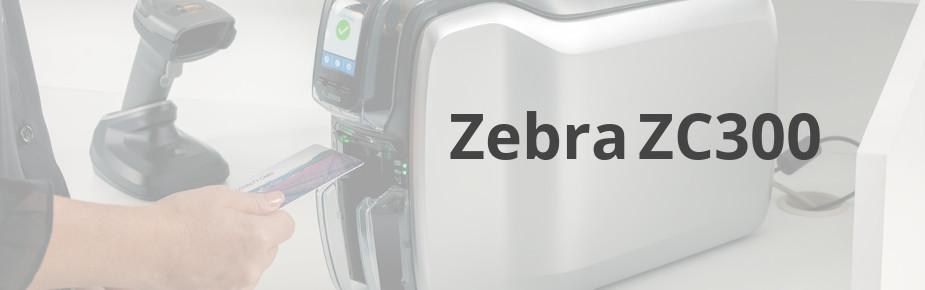 Zebra ZC300 - nowa drukarka kart plastikowych